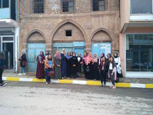 Muş'a İlk Defa Gelen Üniversite Öğrencileri Şehri Gezdi