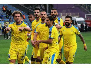 Spor Toto Süper Lig: Mke Ankaragücü: 1 - Evkur Yeni Malatyaspor: 0 (İlk Yarı)