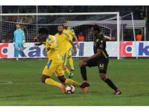 Spor Toto Süper Lig: Mke Ankaragücü: 1 - Evkur Yeni Malatyaspor: 0 (Maç Sonucu)