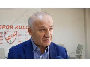 Boluspor Kulüp Başkanı Necip Çarıkcı: