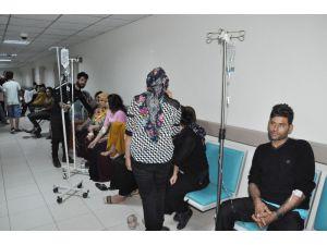 Seyhan'da Yemekten Zehirlenen 65 İşçi Hastanelere Kaldırıldı