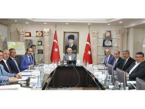 Mardin'de İstihdam Ve Mesleki Eğitim Kurulu Toplandı