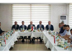 Osmaniye'de Ekonomi Değerlendirme Toplantısı