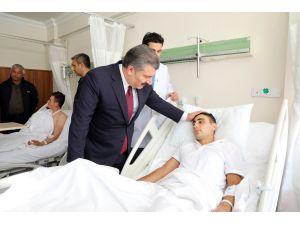 Bakan Koca Hakkari Ve Şırnak'ta Yaralanan Askerleri Ziyaret Etti