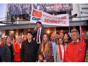 Başkan Gül'e Karşılama