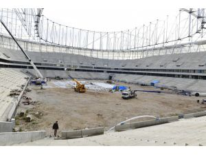 Adana Şehir Stadı İnşaatı Sürüyor
