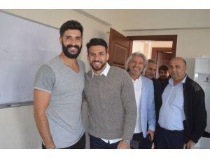 Fenerbahçeli İsmail Köybaşı, Memleketinde Hasret Giderdi