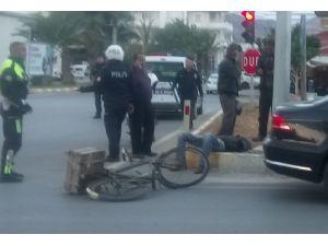 Bozyazı'da Trafik Kazası: 1 Yaralı