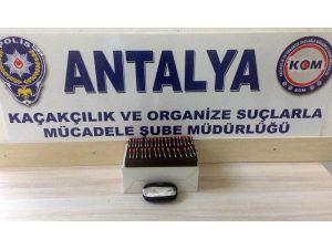 Antalya'da 34 Tüp Kobra Zehri Ele Geçirildi