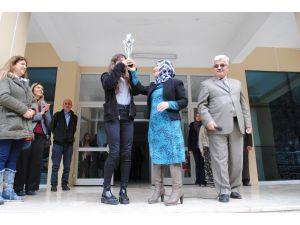 Fatma Acar Akdeniz Bölge Birincisi Oldu