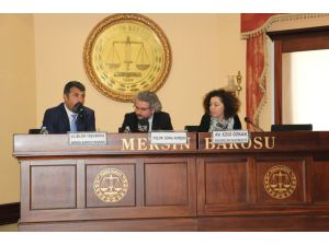 Mersin'de 'İnsan Hakları' Paneli