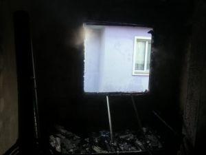 Sobadan Sıçrayan Kıvılcımlar Yangına Neden Oldu