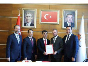 Ak Parti Kozan İlçe Başkanlığına Yusuf Bilgili Atandı
