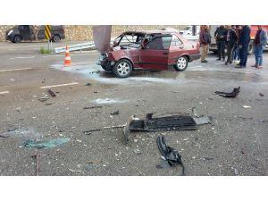 Kaş'ta Kaza: 5 Yaralı