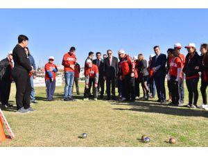 Mersin'de Özel Sporcular İçin Şölen Düzenlendi