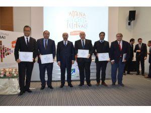 2. Adana Lezzet Festivali'ne Katılan Firmalara Sertifikaları Verildi