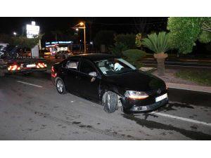 Kaza Yaptılar, Araçlarını Bırakıp Gittiler