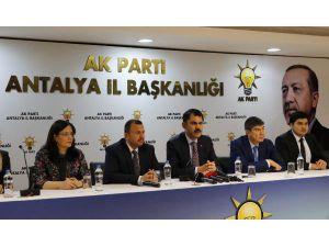 Bakan Kurum: Antalya'daki Projeleri Yakından Takip Ediyoruz (2)