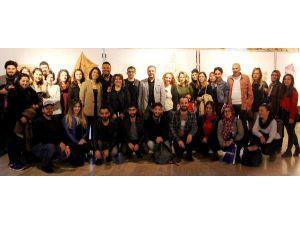 AÜ'de ekolojik baskı sergisi