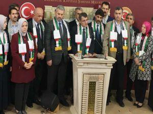 """AK Partili Turan: """"Kudüs'ün İsrail'in başkenti ilan edilmesine katkı sunmak diğer inanç mensuplarına tecavüzdür"""""""