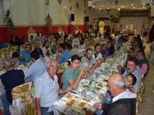 Yeni sanayi esnafı iftar sofrasında buluştu
