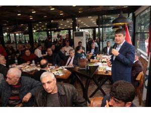 Başkan Türel, İş İnsanlarına Projelerini Anlattı
