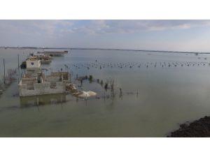 Göle Dönen Amik Ovası Drone İle Görüntülendi