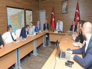 Pamukkale'ye gelecek turist sayısının artması için toplantı yapıldı