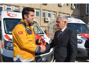 Kahramanmaraş'a 4 Yeni Ambulans
