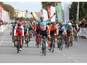 Alanya'da Bisiklet Yarışı