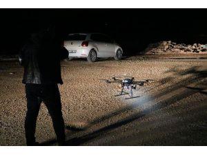 Ormana Kaçan 3 Şüpheli Drone İle Arandı