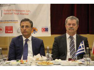 Akdeniz Belediyesi, Yunanistan Delta Belediyesi İle İyi Örnekleri Paylaşacak