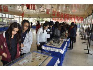 """Dörtyol'da """"Çanakkale Savaşları Gezici Müze Sergisi"""" Açıldı"""