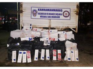 Kahramaraş'ta Kaçak Sigara Operasyonu: 2 Gözaltı