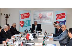 Isparta'da İstihdam Seferberliği 2019 Bilgilendirme Toplantısı