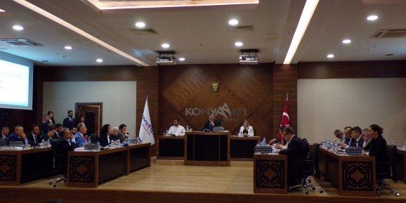 Semih Esen başkanlığında ilk meclis