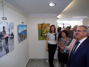 'Antalya' temalı resim sergisi açıldı