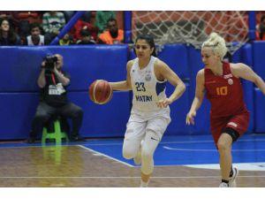 Kadınlar Basketbol Süper Ligi: Hatay Büyükşehir Belediyespor: 62 - Galatasaray: 63
