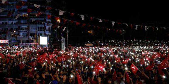 Antalya'da 23 Nisan Fener Alayı İle Kutladı (2)