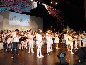 Bilfen öğrencilerinden muhteşem konser