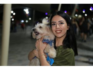 Evcil Hayvan Giremez Yasağının Olduğu Millet Parkına Köpekleri İle Girerek Yasağı Protesto Ettiler