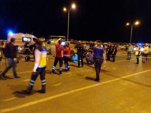 Kahramanmaraş'ta Trafik Kazası: 1 Ağır 5 Yaralı