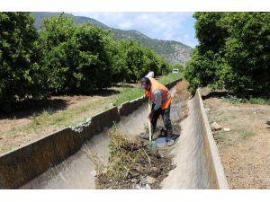 Sulama Kanalları Yaza Hazırlıyor