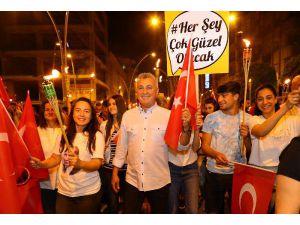 Manavgat'ta 19 Mayıs Coşkusu