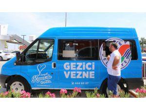Kepez'de Gezici Vezneler Pazar Yerlerinde