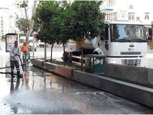 Büyükşehir'den Kent Merkezinde Bahar Temizliği