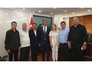 Başkan Yılmaz'a Mgc Ve Myd'den Ziyaret