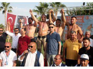 Gazipaşa'da Başpehlivan Ahmet Selbest