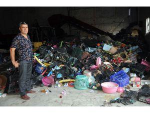 Atık Toplayan Hurdacıydı, Şimdi Atıkları İşleyen Tesisi Var