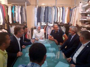 Başkan Başdeğirmen, İstanbul Gaziosmanpaşa'da Seçim Çalışması Yaptı